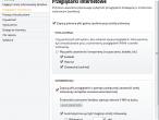 Sandbox - ustawienia ochrony przeglądarek