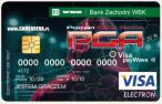 Jedna z pierwszych kart przedpłaconych Visa w Polsce