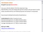 Przykład walentynkowego spamu