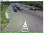 Widok na przejście graniczne Brześć - Terespol