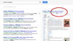 Dostęp do Wikipedii sposobem na google'a
