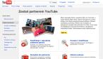 Strona programu partnerskiego YouTube