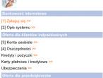 Mobilna wersja strony ING Banku Śląskiego