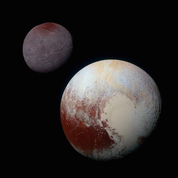 Charon i Pluton