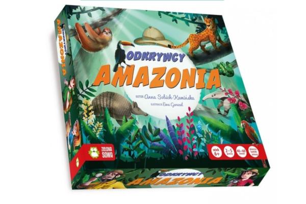 Prezent dla sześciolatki. Gra Odkrywcy Amazonia