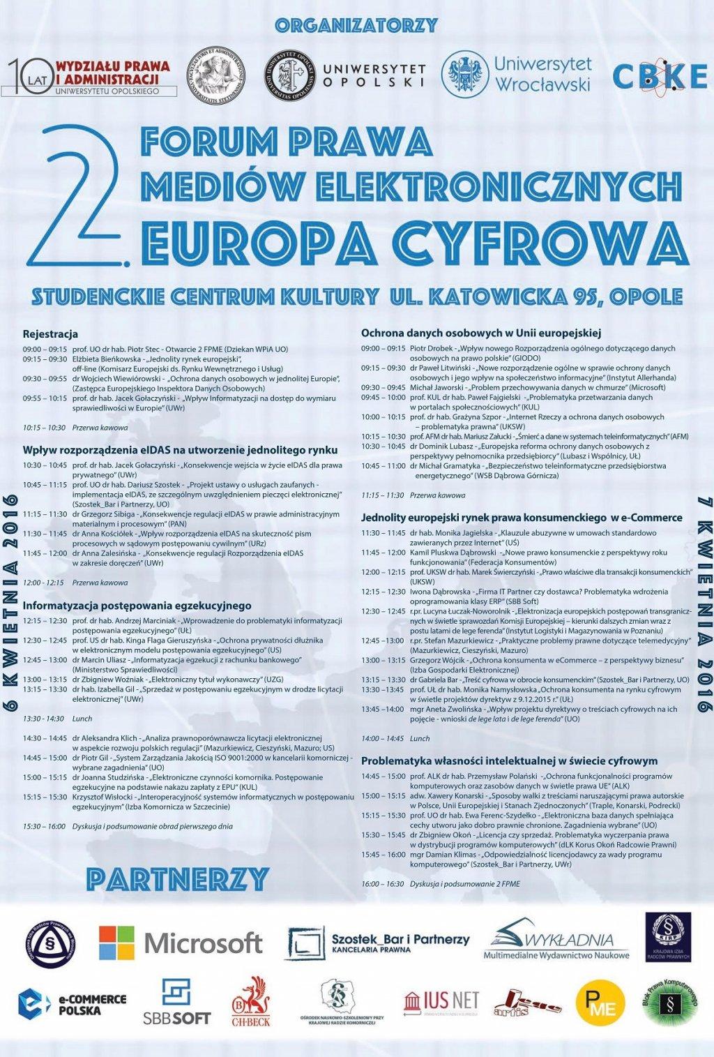 2 Forum Prawa Mediów Elektronicznych
