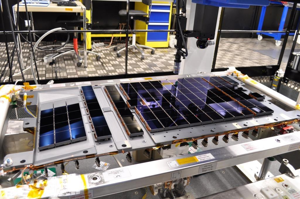 Najważniejszym urządzeniem obserwatorium Gaia jest zestaw 106 matryc światłoczułych - CCD