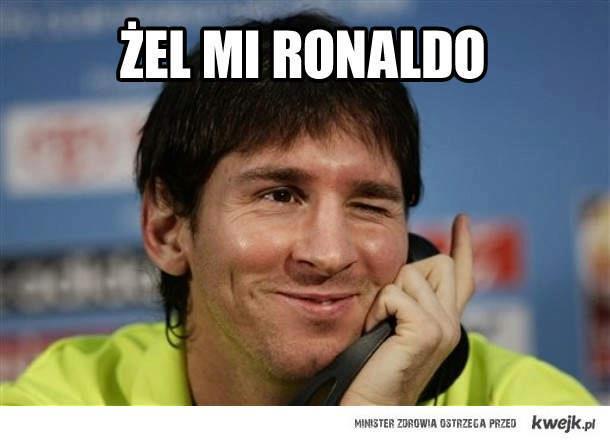 Żel mi Ronaldo