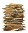 stos papierów