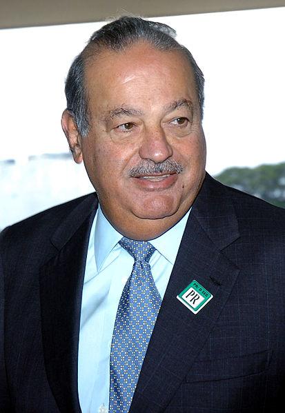 Carlos Slim Helú, fot. Agência Brasil (CC BY 3.0)