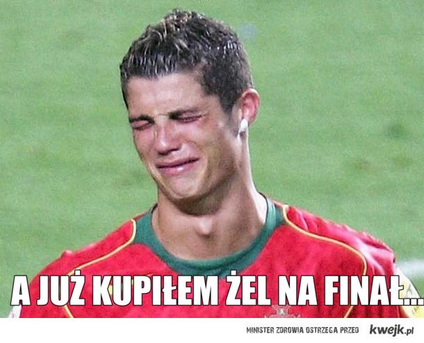 Cristiano Ronaldo po meczu z Hiszpanią