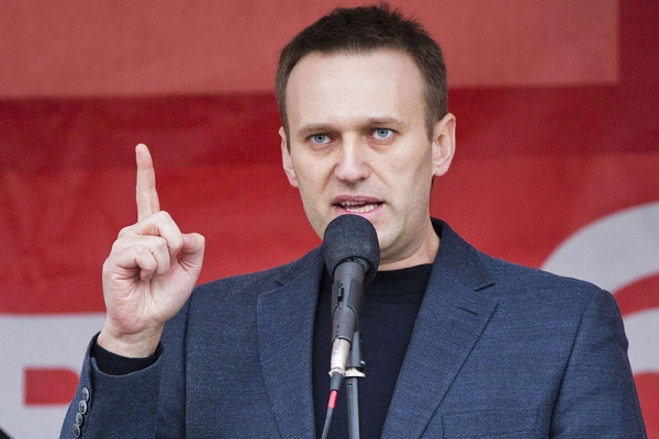 Aleksiej Nawalny, fot. Evgeny Feldman / Novaya Gazeta na lic. CC BY-SA 3.0
