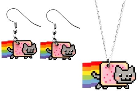 Biżuteria Nyan Cat