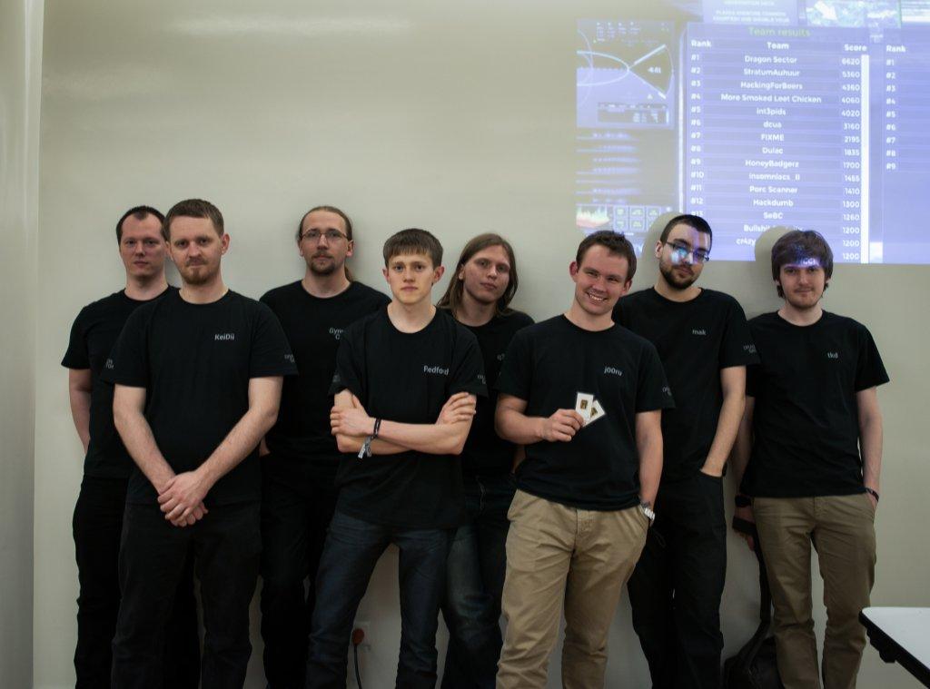 Dragon Sector na zawodach Insomni'Hack 2014 w Genewie