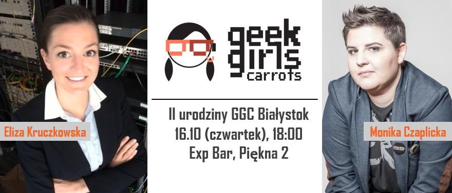 II urodziny Geek Girls Carrots Białystok