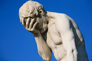 A facepalm statue in Tuileries Garden in Paris, France; fot. Alex E. Proimos (CC BY 2.0)