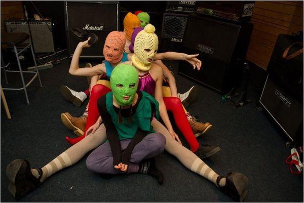Pussy Riot; fot. Denis Bochkarev, CC BY-SA 3.0