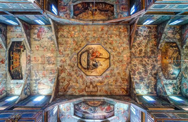 Świdnica, kościół ewangelicki (Pokoju), poł. XVII, XVIII - sufit