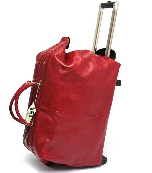 Skórzana torba podróżna z WuKaDor