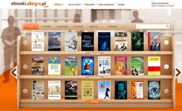 ebooki.allegro.pl - zrzut ekranu
