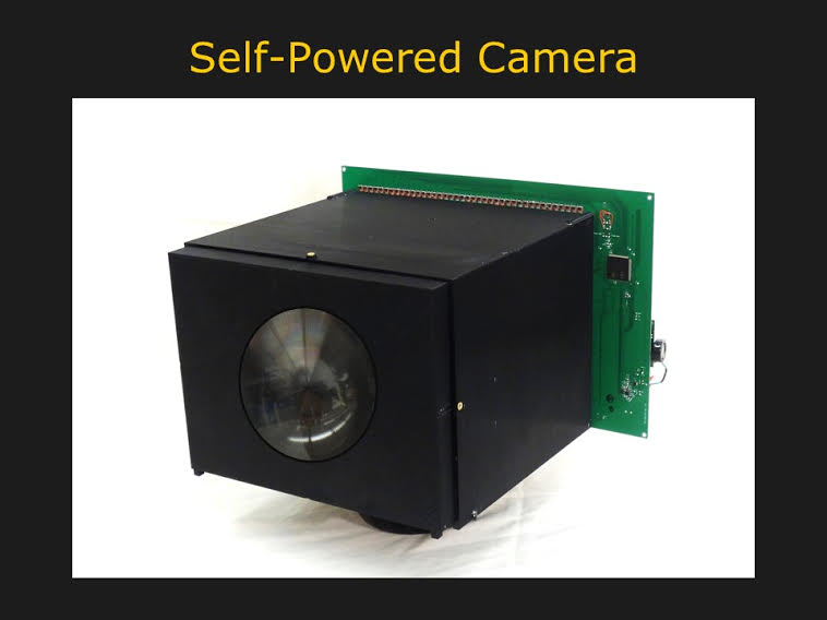 Kamera bez baterii