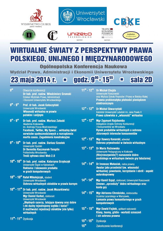 Wirtualne światy z perspektywy prawa polskiego, unijnego i międzynarodowego
