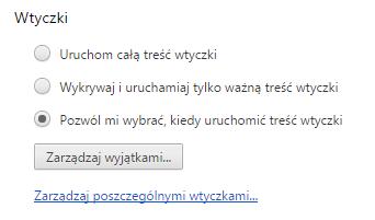 Włączanie funkcji click-to-play w Google Chrome - 3