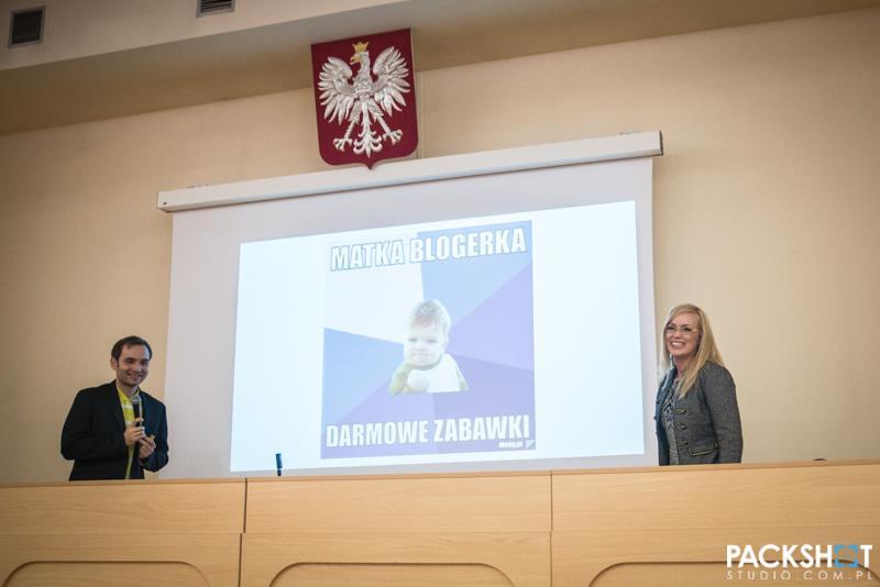 EastCamp Białystok, listopad 2013 - Wojciech i Marlena Wróblewscy, Makoweczki.pl: Więc, myślisz że możesz zostać blogerem? Fot. packshotstudio.com.pl