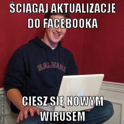 Facebook nie wymaga aktualizacji