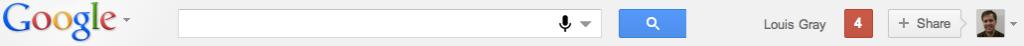 Nowy pasek Google