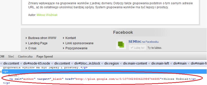 Integracja Google+ ze stroną WWW - rys. 3
