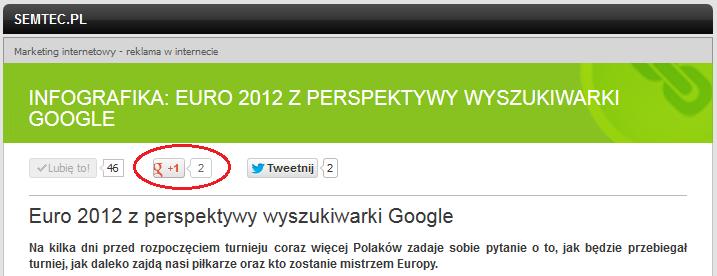Integracja Google+ ze stroną WWW - rys. 6