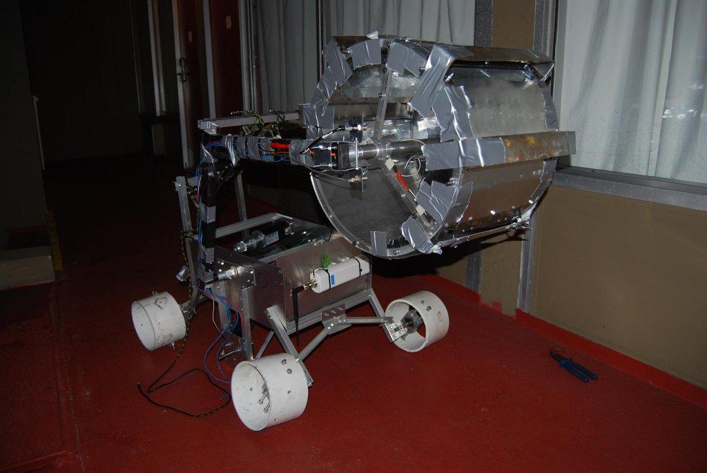 Robot zbudowany na nowo