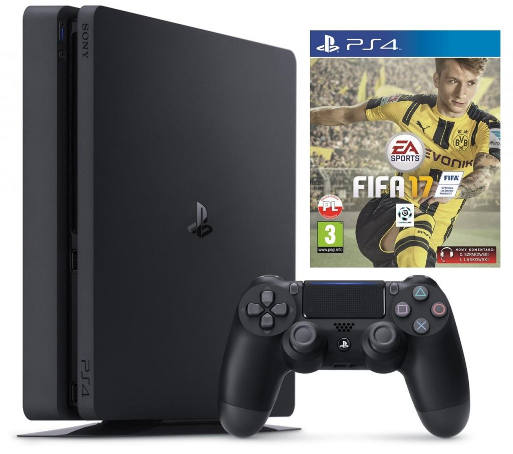 Sony PlayStation 4 SLIM 1TB z grą FIFA 17