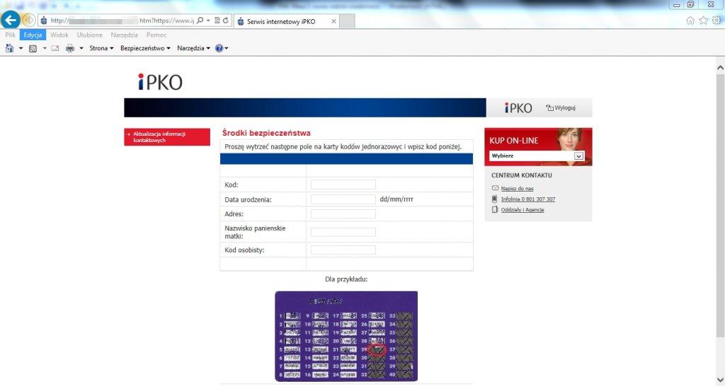 W taki sposób oszuści wyłudzają od klientów PKO BP ich dane