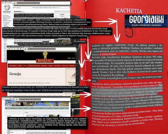 Georgialiki, str. 201 - informacje o Kachetii