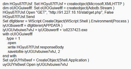 Odmaskowany kod
