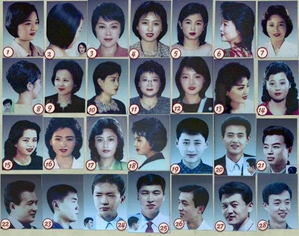 28 fryzur dozwolonych w Korei Północnej