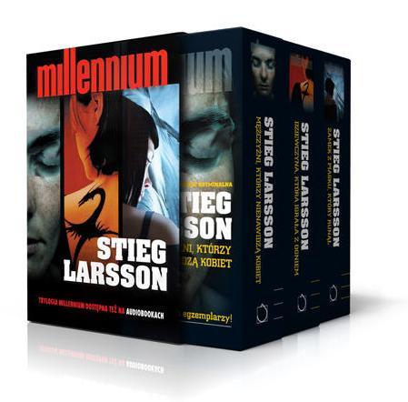 Trylogia Millennium szwedzkiego pisarza Stiega Larssona
