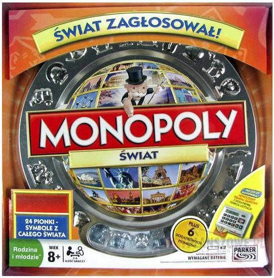 Monopoly Świat Elektronicznie