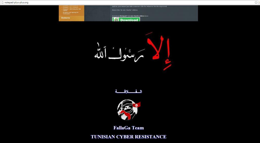 Notepad++ również padł ofiarą dżihadystów