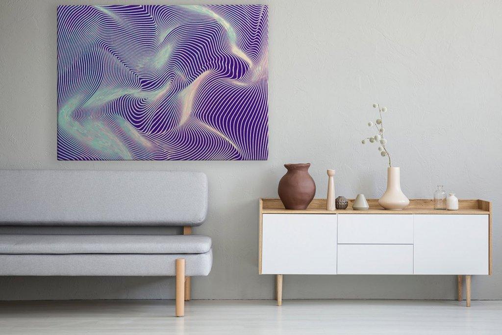 Mat Partnera Obraz Abstrakcja Przedpokój Galeria