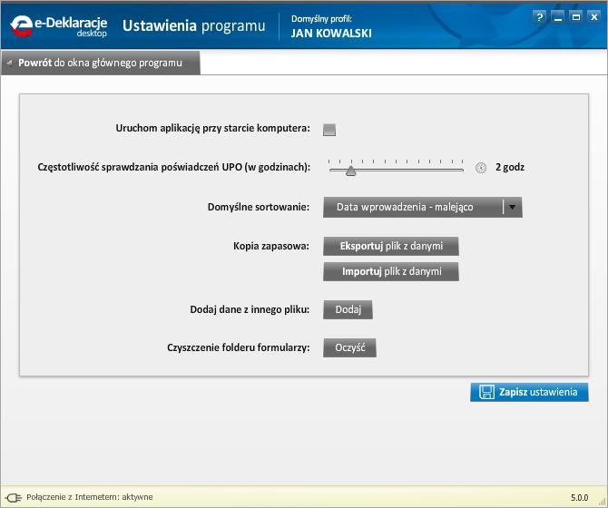 Jak korzystać z programu e-Deklaracje Desktop - rys. 10