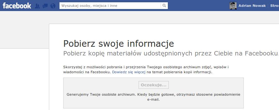 Pobierz - Facebook