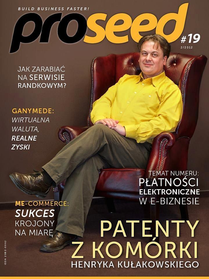 Okładka magazynu Proseed 19