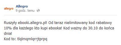 ebooki.allegro.pl - rabat