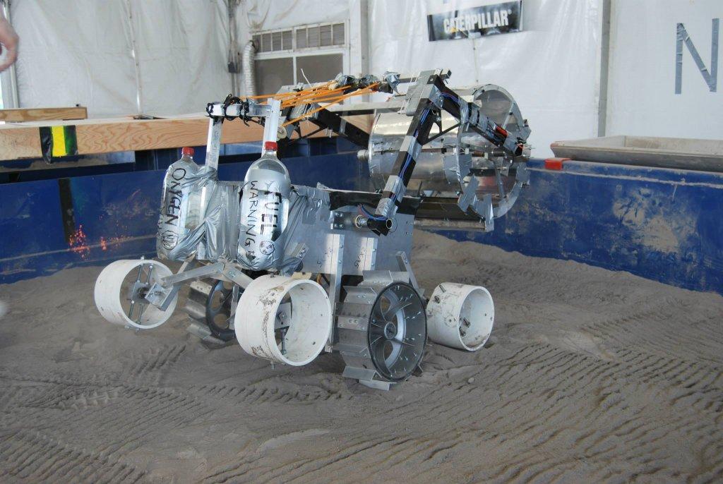 Nowy robot na Lunarenie