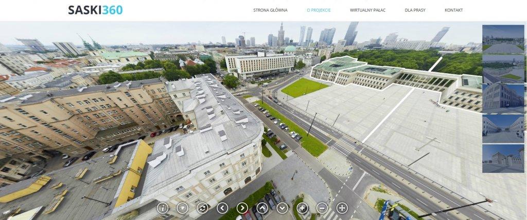 Saski360 - zrzut ekranu