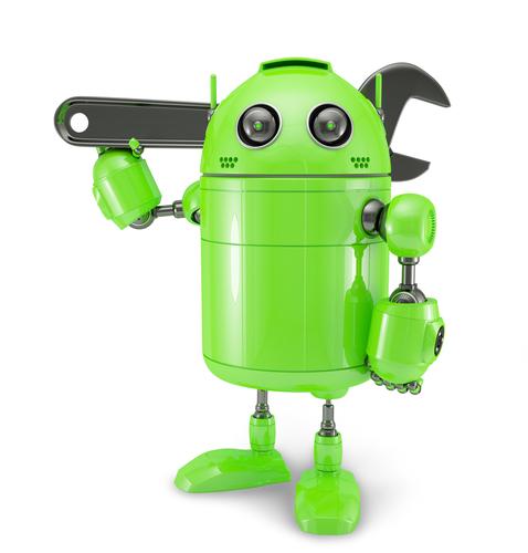 Android z kluczem