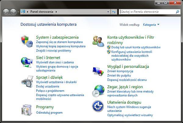Włączanie automatycznych aktualizacji w systemie Windows 7